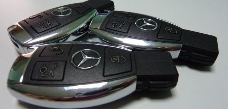 Copia de llave Mercedes rubi-Barcelona