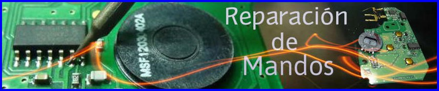 Reparación de mandos a distancia