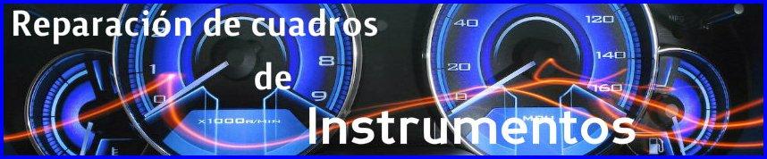 Reparacion de Cuadros de instrumentos Apertcar