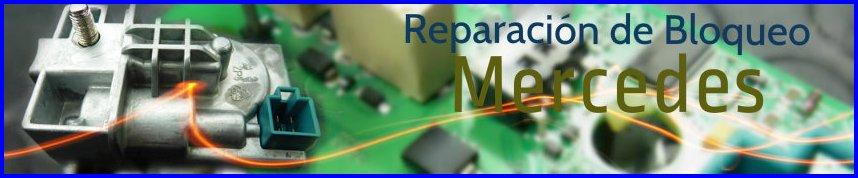Reparación de bloqueo mercedes